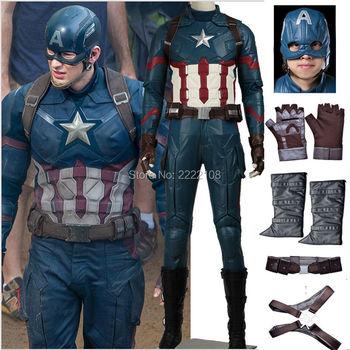2016 marvel the avengers age of ultron captain america 3 civil war cosplay costume steve rogers.jpg 350x350