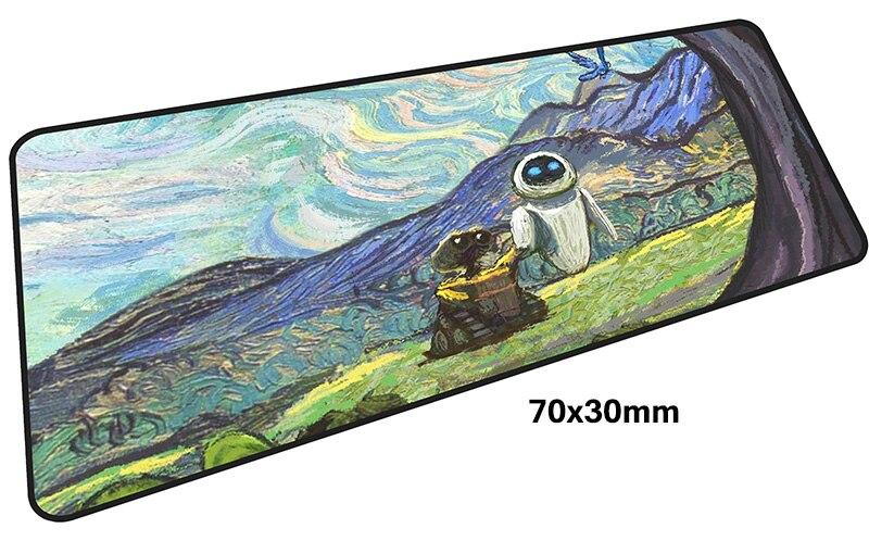 Ван Гог коврик для мыши gamer 700x300 мм notbook коврик для мыши большой игровой коврик для мыши Большой Прохладный новый коврик для мыши PC стол padmouse