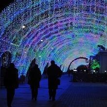 EU Plug 100M 600 LED Christmas Lights Decorative Wedding Fairy Lights Christmas Tree Party Twinkle String Lights R25