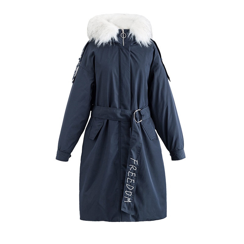 INMAN 2018 New Products Women Hooded Womens Down Jackets Long Coat