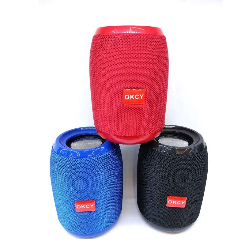 Rational Tragbare Bluetooth Lautsprecher Trommel Form Outdoor Bluetooth Lautsprecher Multifunktionale Stereo Bass Wirkung Tf Karte Bluetooth Lautsprecher Im Sommer KüHl Und Im Winter Warm Unterhaltungselektronik Ai-lautsprecher