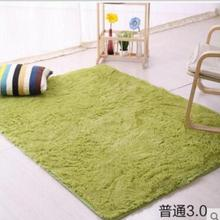 ¡ Promoción! 100*200 cm de gran tamaño mullido shaggy alfombra alfombras antideslizantes comedor carpet floor mat home dormitorio casa y jardín