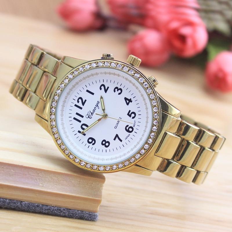 2018 Cyd Couples Men Women Ladies Luxury Diamond Quartz Watches Stainless Steel Fashion Dress Clock Wristwatch Religious