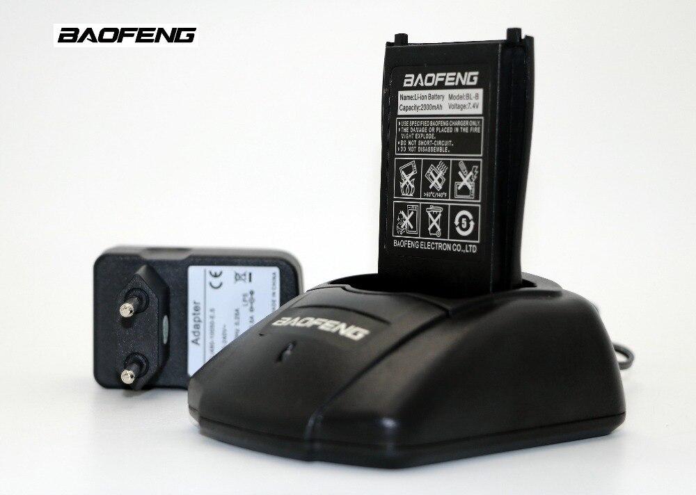 D'origine Baofeng UV-B5 UV-B6 Talkie walkie chargeur adaptateur utiliser pour UVB5 UVB6 cb Portable radio fournir US EU UK au 4 genre plug