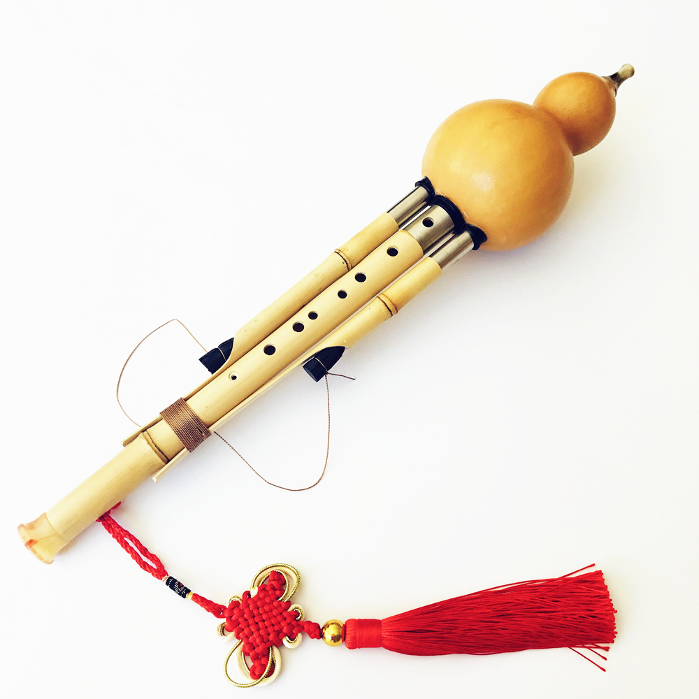 Chinese Handmade Hulusi Golden Bamboo Gourd Cucurbit Flute 7&9 Holes Musical Instrument Key of bB/C/F/G with Case Flauta Dizi аксессуар фильтр honeywell prf35m011