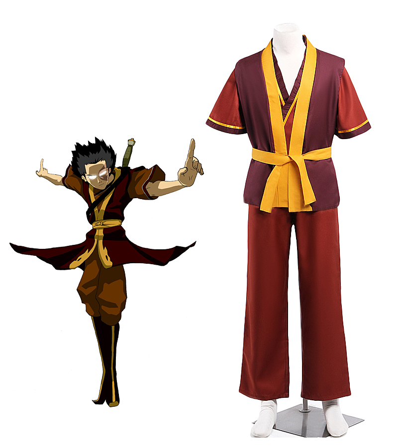 US $55 69 |Prince Zuko Cosplay Avatar Zuko Zuzu Cosplay Costume Custom Made  Unisex Any Size Costume for Halloween Party-in Game Costumes from Novelty