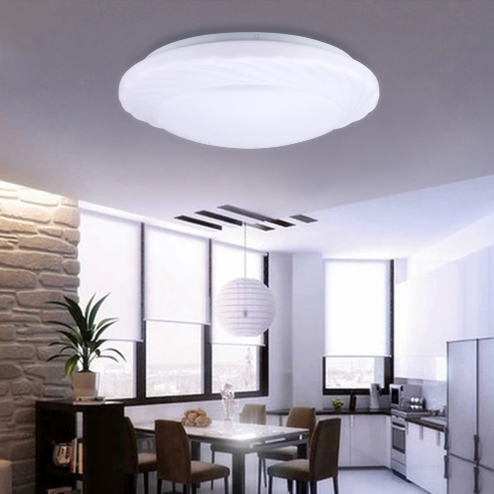 new modern led ceiling light 18w 7000k bright light 1600. Black Bedroom Furniture Sets. Home Design Ideas