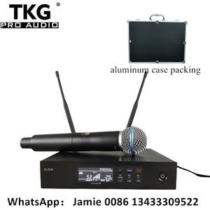 Image 1 - professional stage sound system performance karaoke QLXD4 UHF Wireless Microphone True Diversity SingleHandheld Microphone