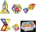 Caja de plástico + 14 Unids/set Bloques de Bloques de Construcción Magnética 3D Niños DIY Juguetes Educativos Modelo Kits de Construcción de ladrillos de Juguete Magnético