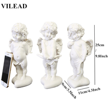 Miniature Figurines Home Accessories Decor Office Sandstone Lovely Angel Handmade White Angel Statuettes Creative Europe Desk handmade angel