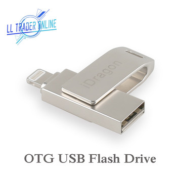 LL TRADER 64GB Mini USB Flash Drive For iPhone iPad iPod iOS Storage Pendrive Flash Drive OTG USB Memory U Disk USB Pen drive USB-флеш-накопитель