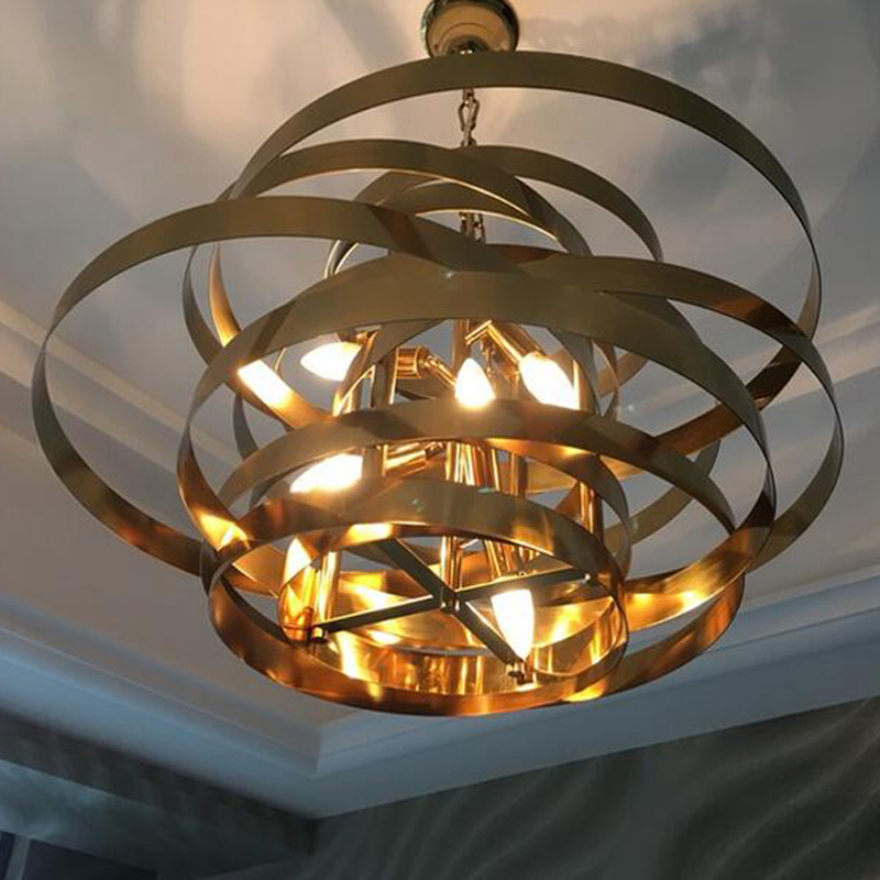 High quality simple chandelier led light modern chandeliers for living room dinning room hanglamp gold lighting in chandeliers from lights lighting on
