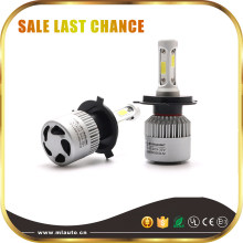 Big Promotion H4 Auto LED Headlight Bulb 8000lm 6500k E2/S2 H11 Car LED headlight lamplight(China)