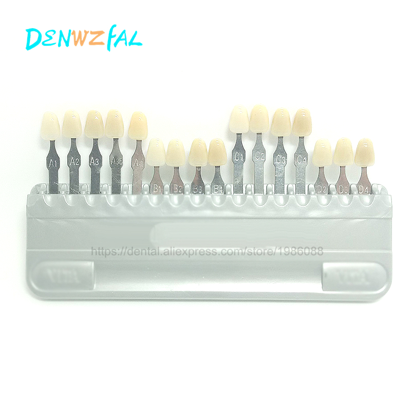 Dental Material Is Not Vita Tooth Color Model