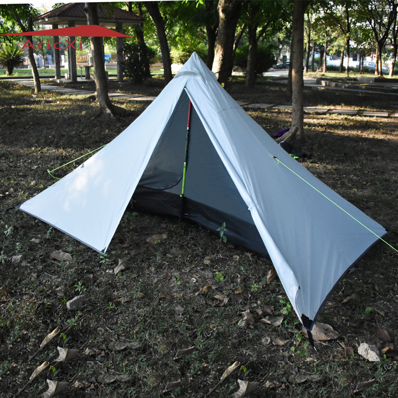 ARICXI Outdoor Ultralight Camping Tent 4 Season 1 Single Person Professional Rodless Tent цена