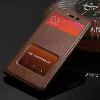 Redmi Note 2 Case Genuine Leather Cases For Xiaomi Redmi Note2 Cover Luxury Protector For Hongmi