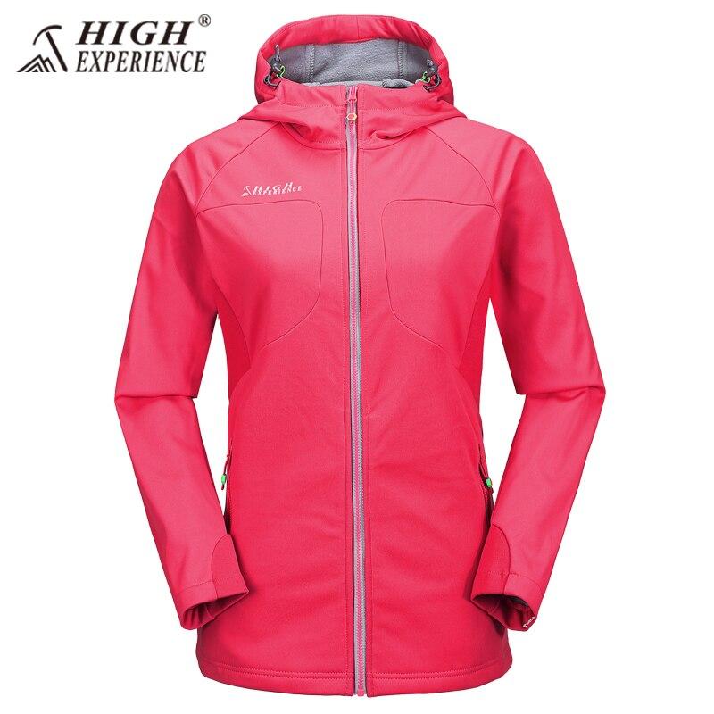 New High Experience Brand Women Outdoor Hiking Jacket Waterproof Outdoor Female Fleece Jacket Lightweight Windbreaker парка high experience это
