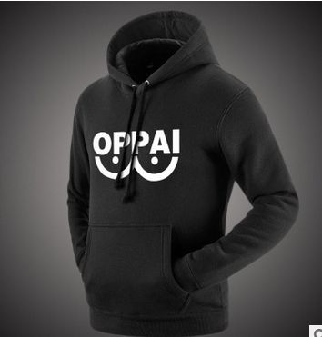 One Punch Man Anime ONE Oppai Tide brand Skateboards Swag Sweatershirt