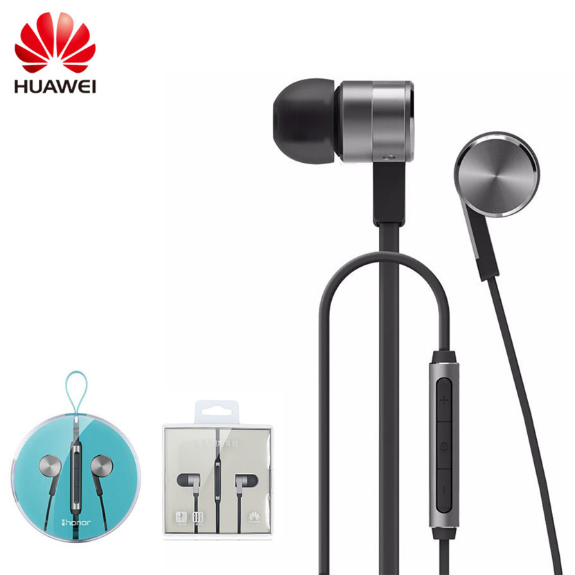 Original Huawei AM13 Honor Engine2 Bass Earphone Stereo Piston In-Ear Earbud with Mic for Huawei Samsung HTC Xiaomi Meizu Phones huge new creative simulation tibetan mastiff dog toy lifelike dog doll gift about 90x32x88cm