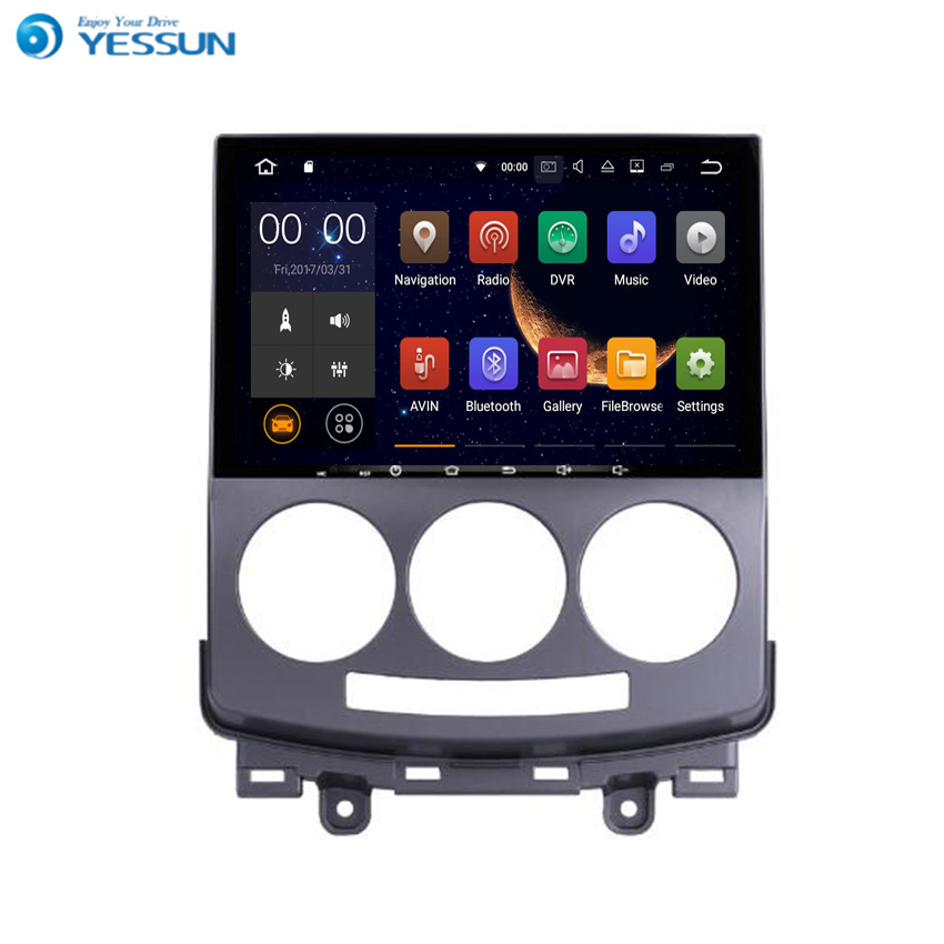 YESSUN Für <font><b>Mazda</b></font> <font><b>5</b></font> <font><b>2005</b></font> ~ 2009 Android Auto GPS Navigation player Multimedia Audio Video Radio Multi-touchscreen image