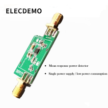 лучшая цена AD8361 Module Mean Response Amplitude Modulation RF Power Detector Low Frequency to 2.5GHz Power Meter
