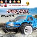1/28 RC Автомобилей Wltoys P929 2.4 Г 4CH Внедорожные Дистанционного Управления Monster Truck RC Автомобилей 30 км/ч РТР электрический 4WD Щеткой toys