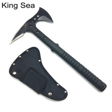 King Sea Tactical Axe Tomahawk Army Outdoor Hunting Camping Survival Machete Axes Hand Tool Fire Axe Hatchet Axe Ice Axe