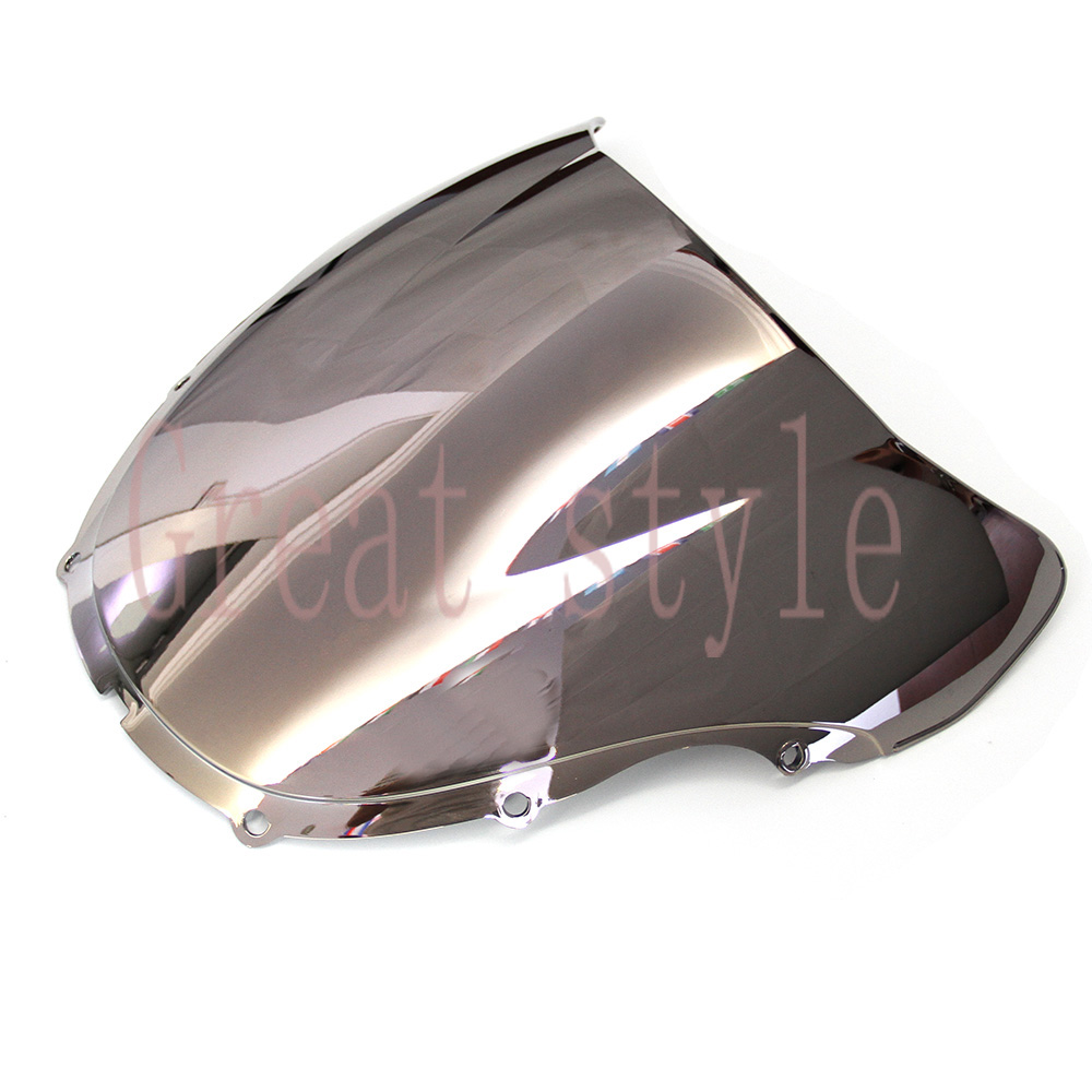 New High quality bike motorcycle motorbike Windshield Windscreen Silver For Honda CBR600F4 CBR 600 F4 1999 2000 99 00 ABS