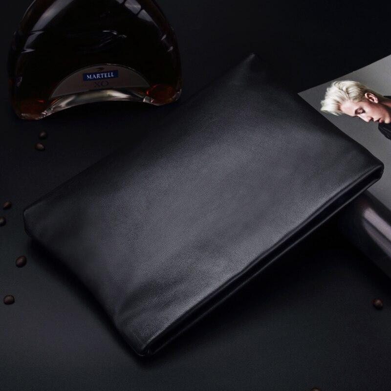 Bolso de mano de los hombres de Wmnuo Bolso de cuero genuino 2018 - Bolsos - foto 3