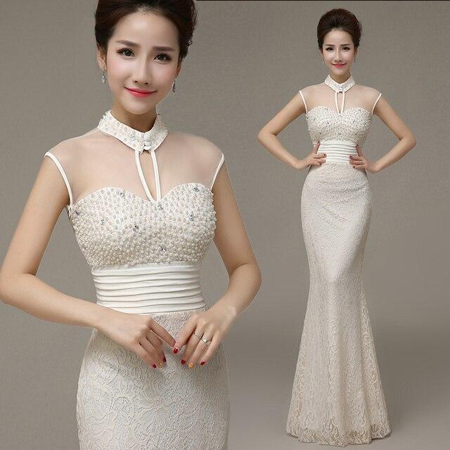 1 pcs/lote livraison gratuite femme dentelle robe de soirée longue de  conception dentelle mince