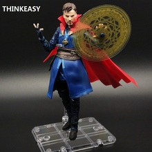 THINKEASY Strange Captain America Ant Man Cartoon Toy Action Figure Model Doll Gift Christmas