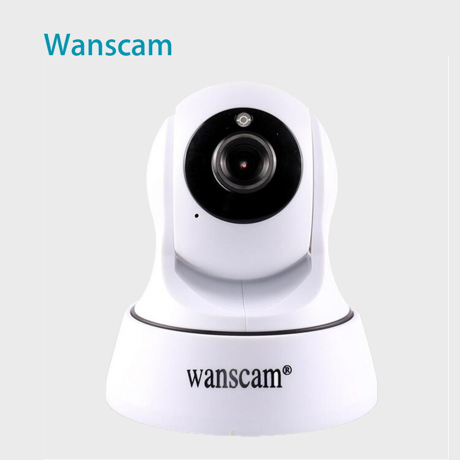 New Surveillance IP Camera Pan/Tilt P2P IR Night Vision Motion Detection Wireless WiFi Indoor Home Security Support 64G TF Card