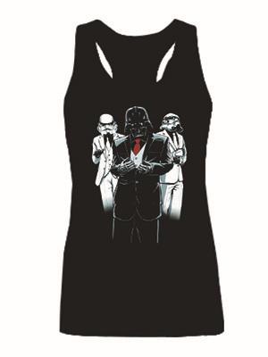 Únete a la moda imperio Star Wars adultos Tank Tops mujeres sin mangas Yoda / Darth Vader Storm Trooper Ladies Tee Shirt