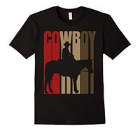 Cowboy Rodeo Cow Horse Yeehaw Novelty Vintage Retro T Shirt Men Brand Clothihng Top Quality Fashion