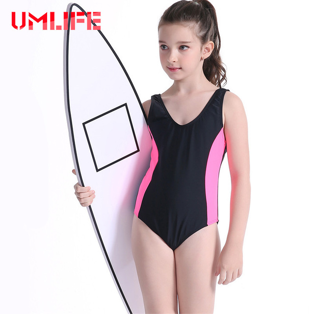 990cbe0115e95 2019 Professional Children Girls Swimwear One Piece Swimsuit Kids Girl  Sports Bodysuit Bathing Suit Racing One-Piece Swimsuits