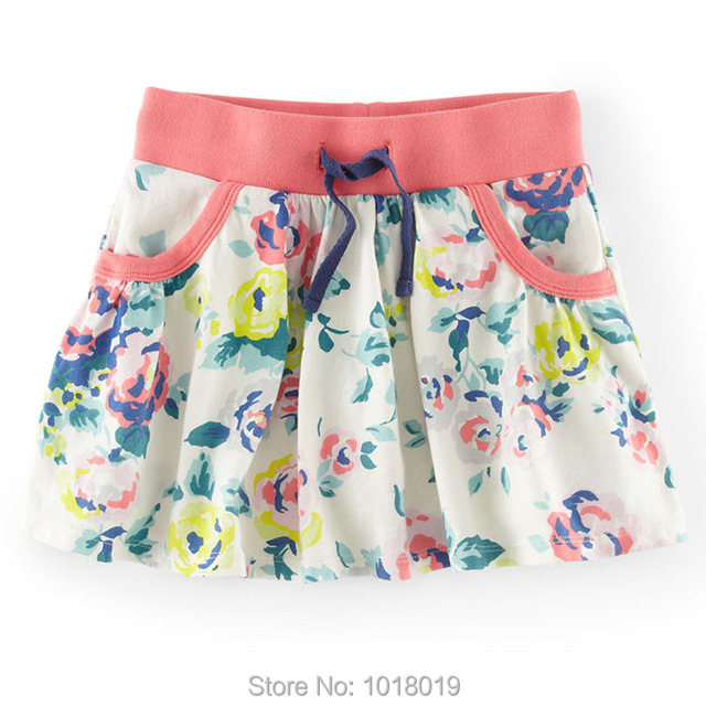 New 2017 Quality Branded 100% Cotton Baby Girls Skirts Children Clothing Kids Clothes Toddler Girls Casual Skirts For Baby Girls