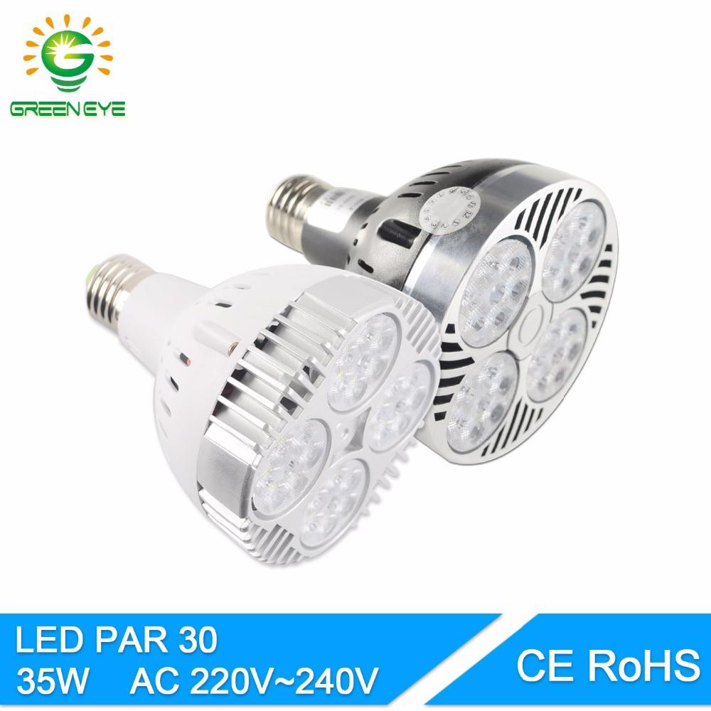 PAR30 Green Halogen Flood Light Bulbs