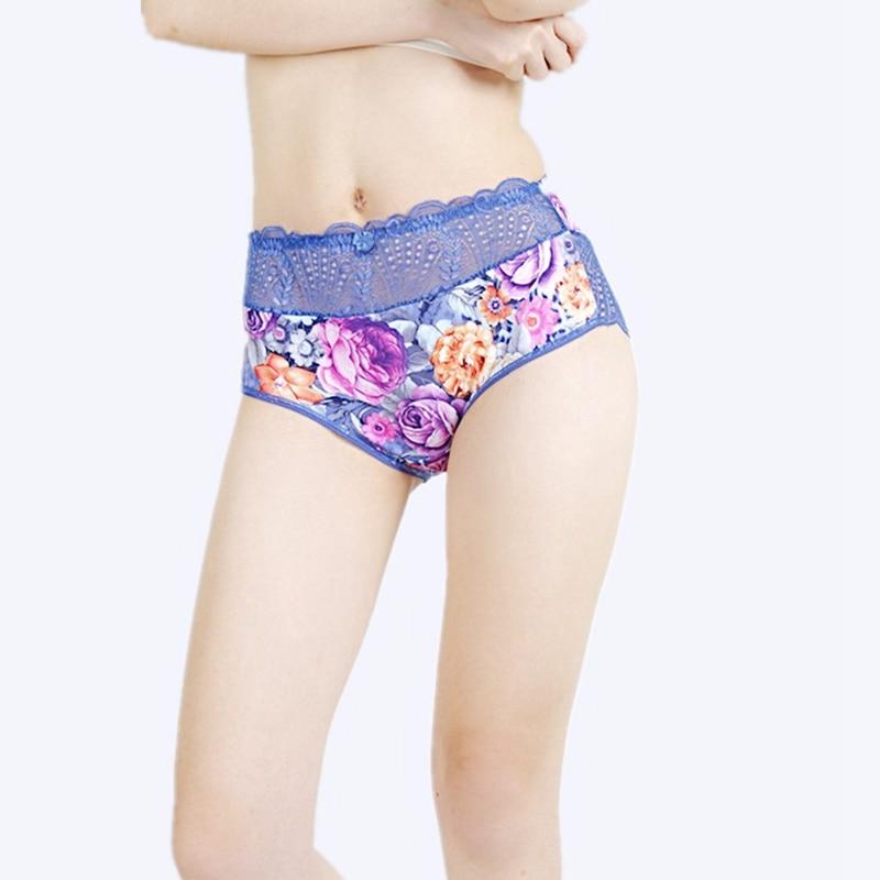 2018New Arrival womens briefs sexy lingeries Lace Flower hollow Plus Size 6XL Big size 12 Colors Cotton underwear women panties
