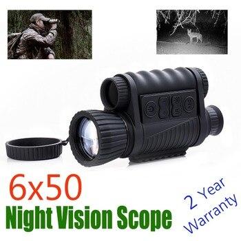 WG650 ночного видения Монокуляр ночной охотничий оптический прицел Riflescope ночного видения бинокль Оптический ночной вид Бесплатная доставка