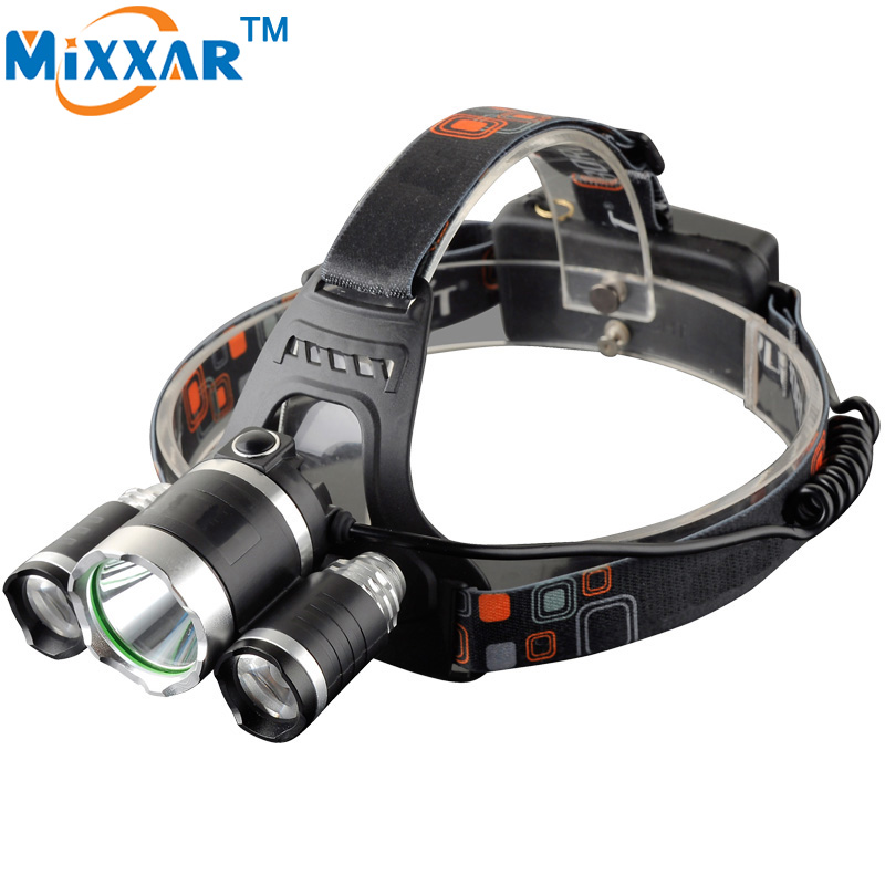 13000LM LED Headllamp Lighting T6+2R5 Headlight Hunting Camping Fishing Light Outdoor LE ...