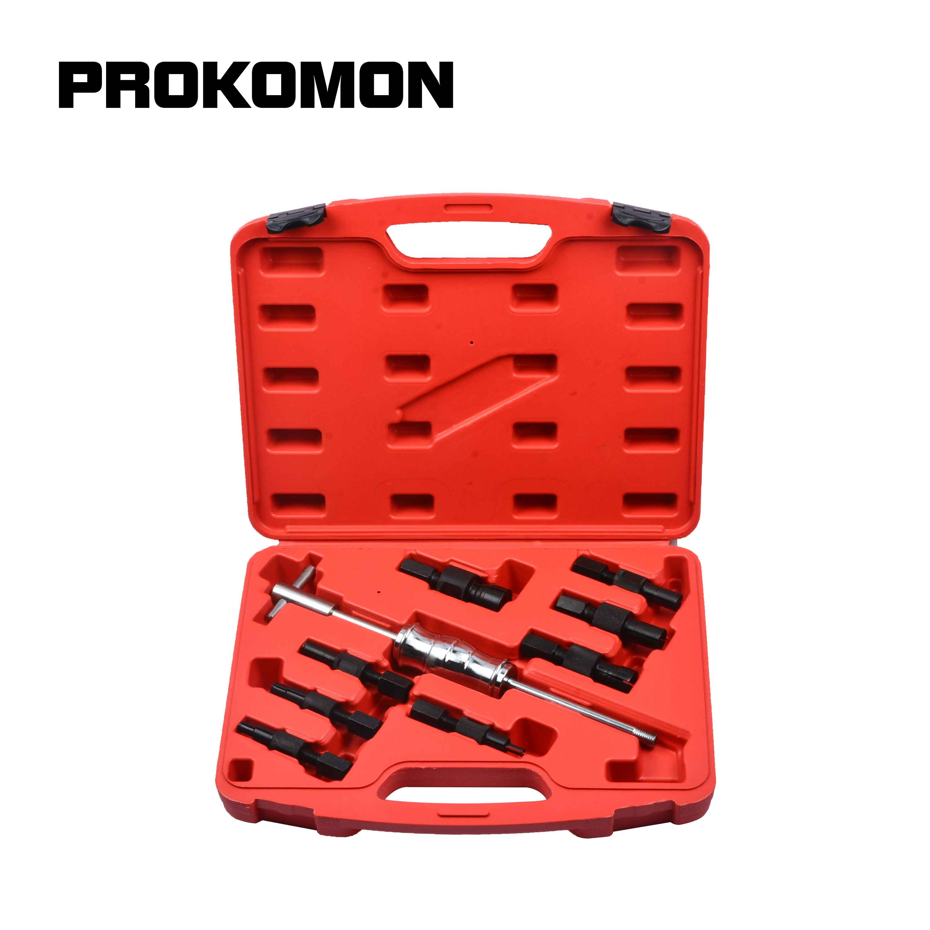 9Pc Blind Hole Slide Hammer Pilot Bearing Puller Internal Extractor Removal Kit