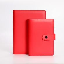 Harphia Red Macaron Loose-leaf notebook A5/A6 planner 6 Hole  Diary цены онлайн