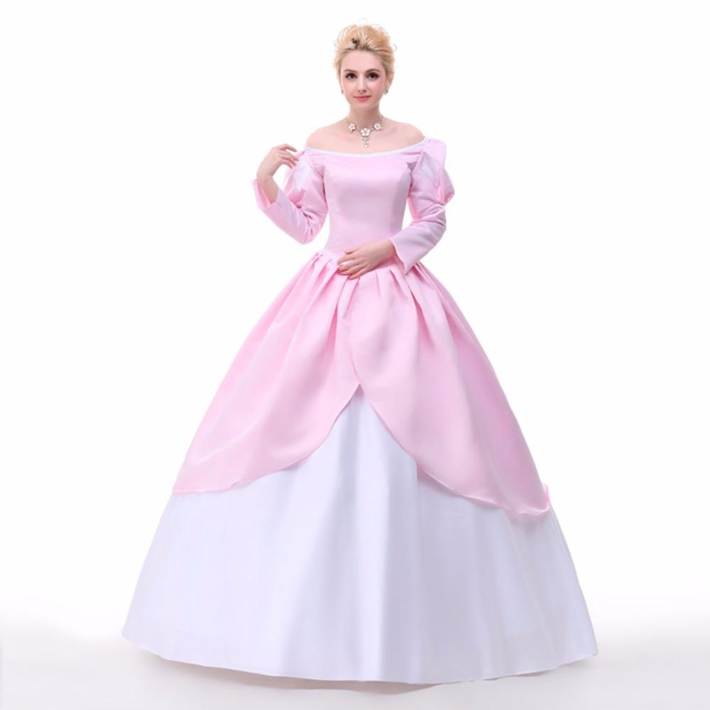 Die kleine meerjungfrau kostüm pirncess ariel cosplay kostüm märchen ...