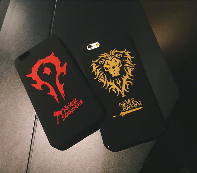 World of Warcraft Phone Case Cover For iphone 7 7plus 6 6s plus 5.5