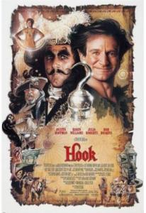HOOK movie poster JULIA ROBERTS robin williams SILK POSTER Decorative painting 24x36inch