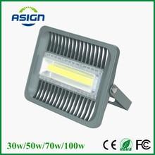 Светодиодный прожектор 100 w 70 Вт 50 Вт 30 Вт прожектор IP66 Водонепроницаемый 220 В 110 В светодиодный прожектор refletor привело наружного освещения Gargen лампа