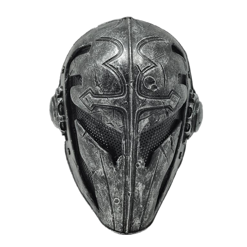 Halloween horreur templier croix roi masque tactiques CS FRP masque protecteur pour les yeux