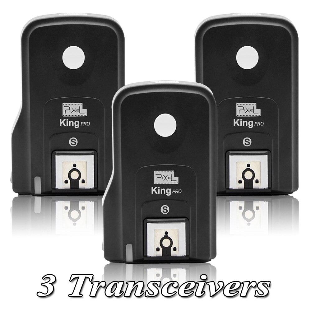 INSEESI King Pro Flash Trigger Kit 1 приемопередатчик ttl HSS ЖК экран с ПК портом + 2 приемника для sony Mi Shoe DSLR камер A7RII