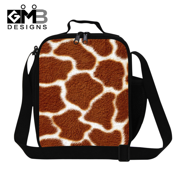 Personalized Leopard Lunch Bags for Women Work,Cool Lunch Container For Children School,Stylish Insulated Lunch Box Bag for food