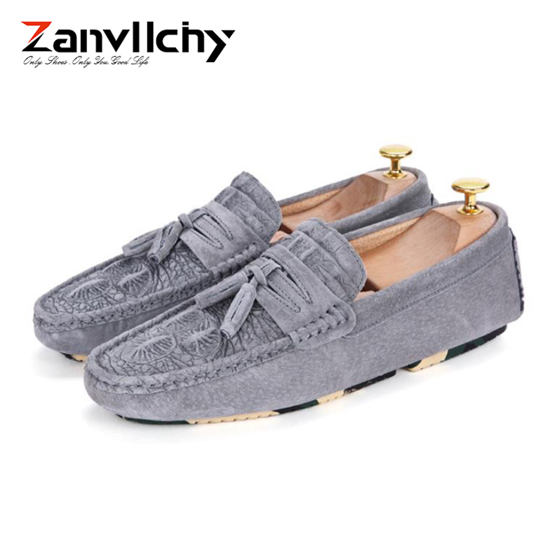 Zanvllchy Luxury Loafers Men Crocodile Mocassin Homme Spring Summer Brand Mocasines Hombre Genuine Leather Boat Shoes for Male 3